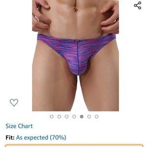 Mens underwear new no tags